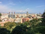 Aussicht Montjuïc